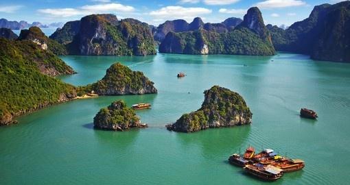 La baie d'Halong 1 - destination-asie