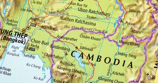 Cambodia - Geography and Maps